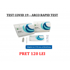 TEST PCR RAPID TEST COVID 19- ARCO